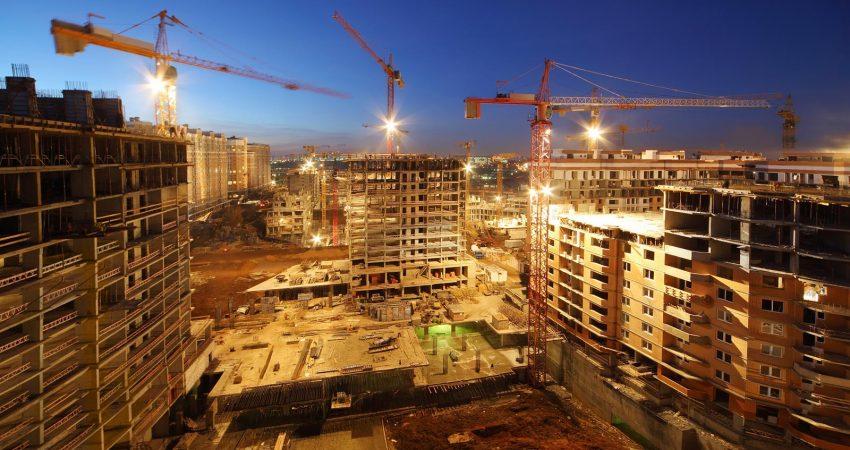 City centre construction